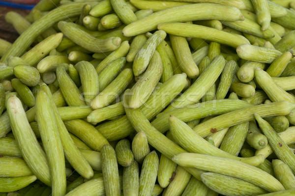 キュウリ 新鮮な ファーム 販売 市場 食品 ストックフォト © pazham
