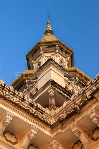Spanyol mecset India csodálatos építészet épület Stock fotó © pazham