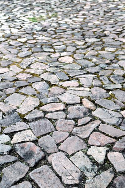 каменные красивой структур ведущий дороги стены Сток-фото © pazham