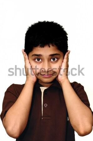 élégant indian Kid regarder enfants mode Photo stock © pazham