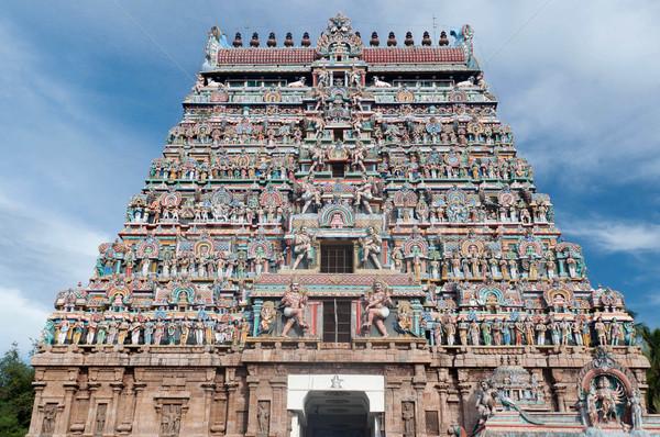 Chidambaram Nataraja Temple Stock photo © pazham