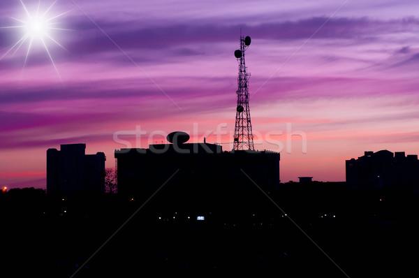 塔 技術 電話 フレーム フィールド ストックフォト © pazham