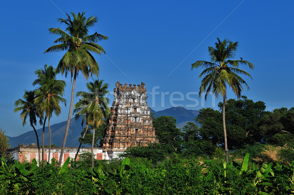 ancient hindu temple Stock photo © pazham
