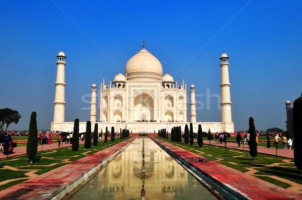 タージマハル 美しい 不思議 世界 明るい 晴れた ストックフォト © pazham