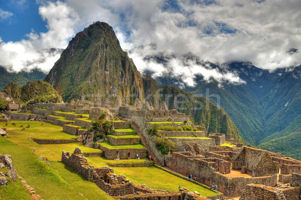 Machu Picchu Stock photo © pazham