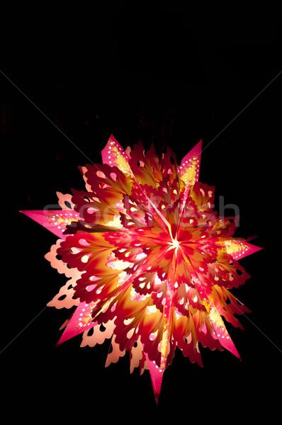 Noël star coloré blanche pays vacances Photo stock © pazham