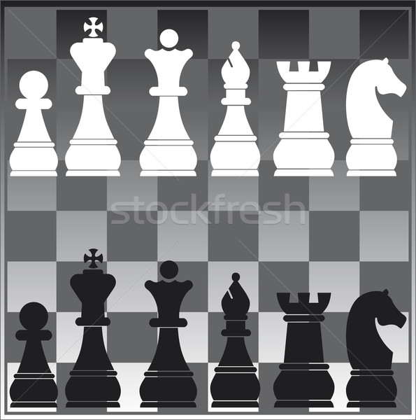 chess board Stock photo © pballphoto
