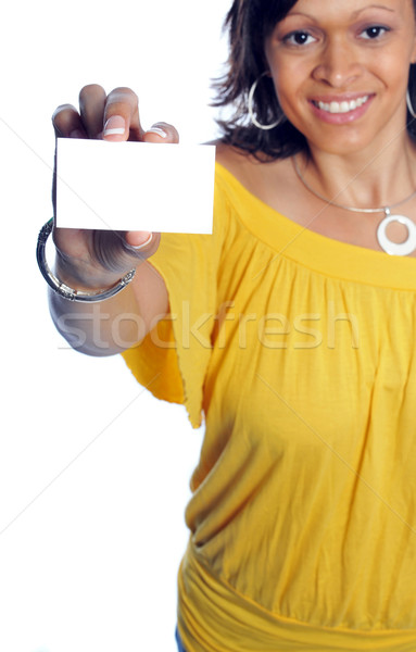 businesscard Stock photo © pdimages