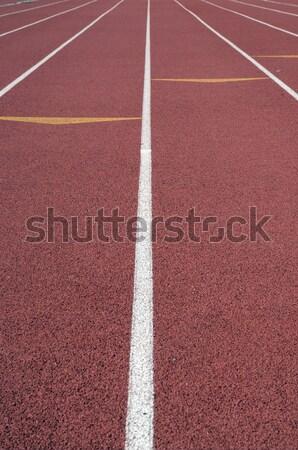 Izlemek alan çalışma ok spor arka plan Stok fotoğraf © pdimages