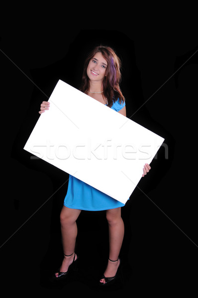 teen sign Stock photo © pdimages