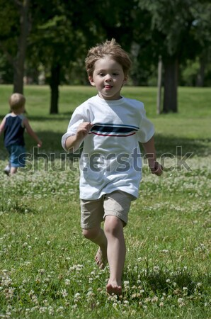 child play in the park Stock photo © pdimages