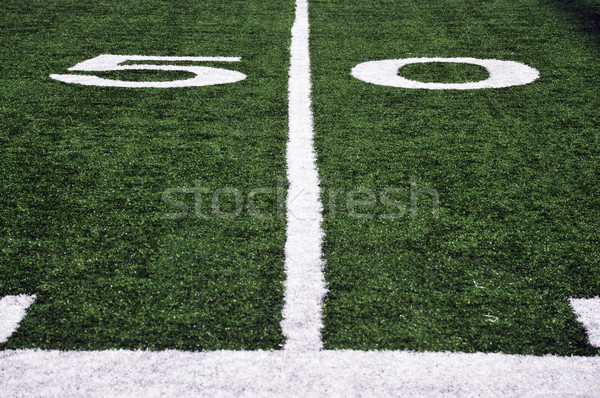 American Football Field Stock photo © pdimages