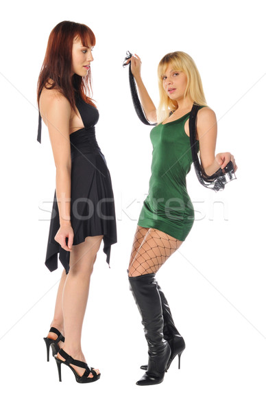two friends posing together Stock photo © pdimages
