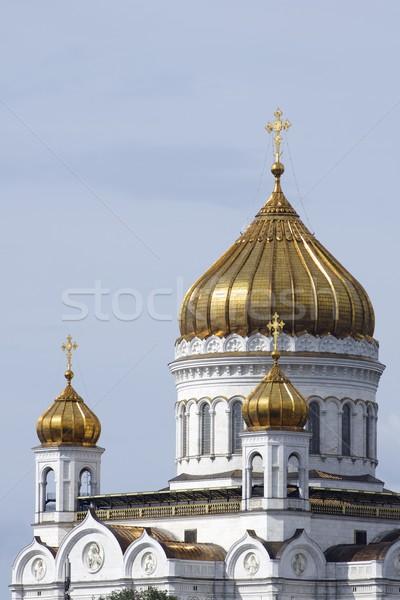 Христа спаситель собора Москва Россия небе Сток-фото © pedrosala