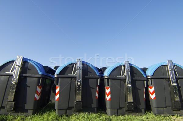 recycling bins Stock photo © pedrosala