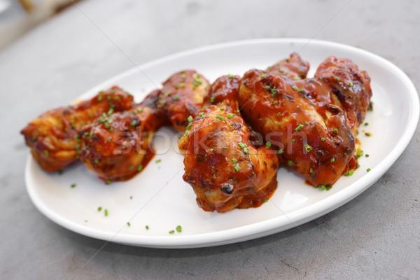 Chicken wings Stock photo © pedrosala