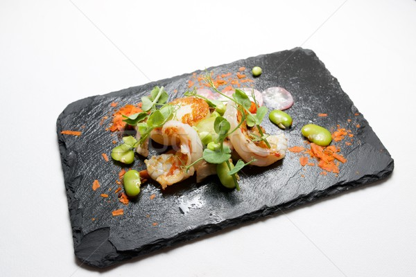 Сток-фото: поросенок · продовольствие · рыбы · кухне · ресторан