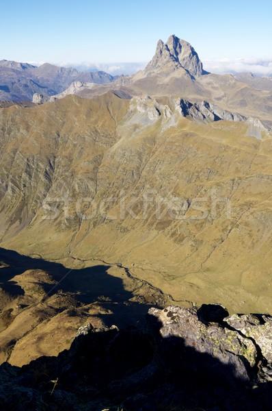 Midi Dossau peak Stock photo © pedrosala