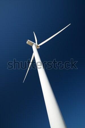 Rüzgâr enerji fırıldak yenilenebilir elektrik Stok fotoğraf © pedrosala