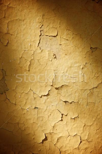 Fal öreg magas döntés absztrakt festék Stock fotó © pedrosala