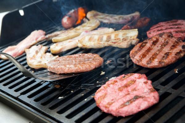Barbecue close up Stock photo © pedrosala