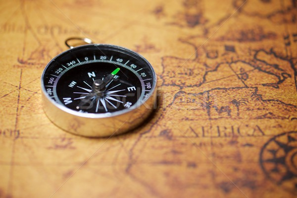 Stock photo: Vintage navigation concept