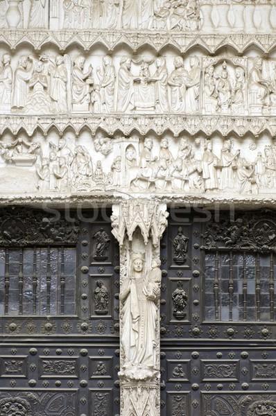 Cathedral of Toledo Stock photo © pedrosala