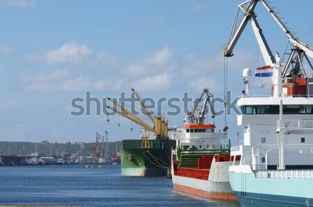 ポート 貨物 発送 水 海 ボート ストックフォト © pedrosala