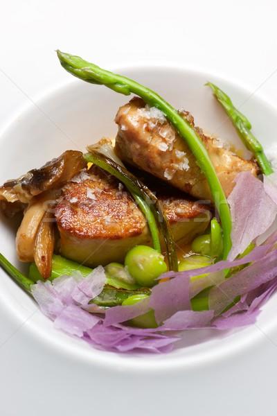 Foie gras escalope Stock photo © pedrosala