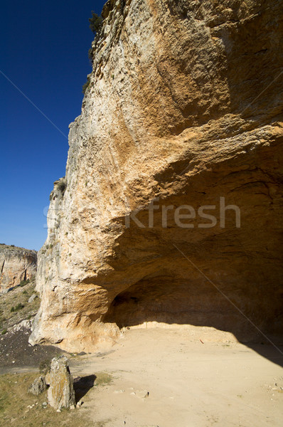 Rock formation in Spain Stock photo © pedrosala