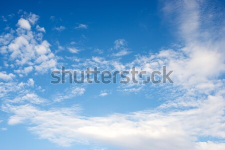 Sky background Stock photo © pedrosala