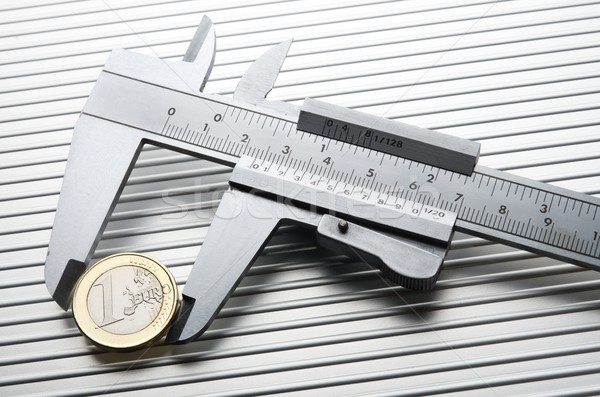 calibrating the  euro Stock photo © pedrosala