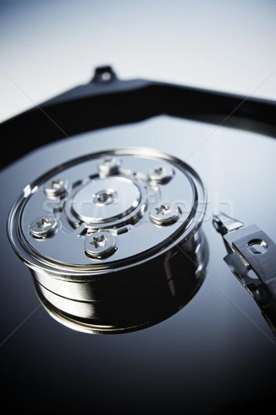 Festplatte öffnen Computer Festplatte Laptop Stock foto © pedrosala
