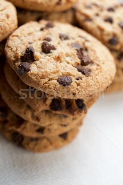 Sütik csoport csokoládé sültkrumpli otthon cukorka Stock fotó © pedrosala