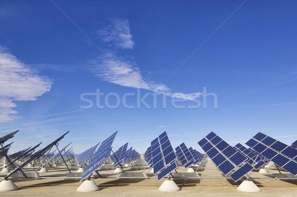 группа производить возобновляемый Сток-фото © pedrosala