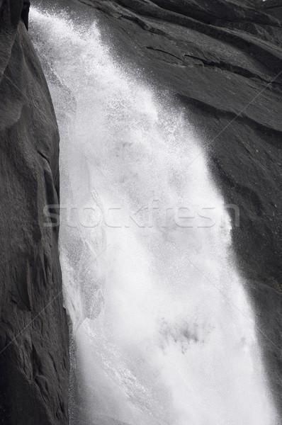 滝 ヨセミテ国立公園 米国 水 旅行 スプラッシュ ストックフォト © pedrosala