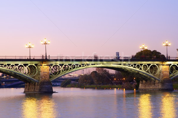 Triana bridge Stock photo © pedrosala