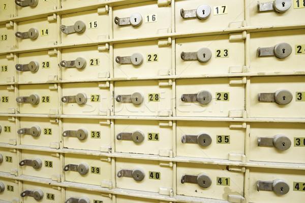 безопасной группа старые банка деньги Сток-фото © pedrosala