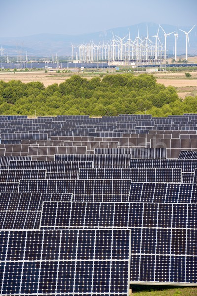 Renewable energy Stock photo © pedrosala