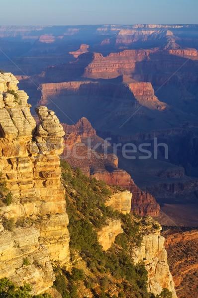 Grand Canyon park Arizona USA naplemente tájkép Stock fotó © pedrosala