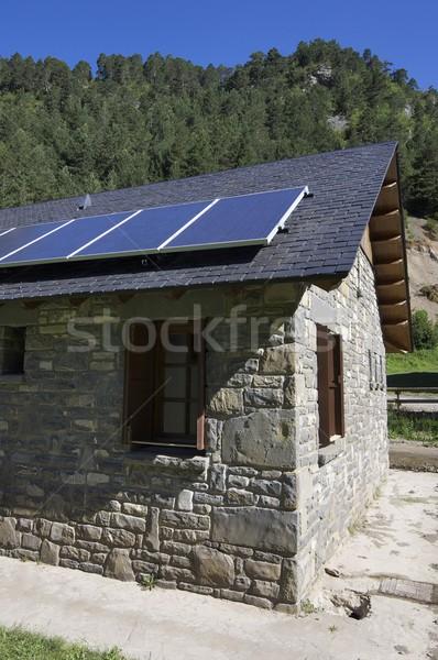 solar panels Stock photo © pedrosala