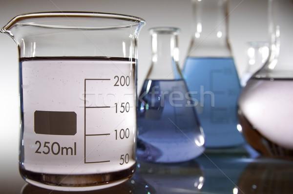 室 グループ 液体 青 ピンク ストックフォト © pedrosala