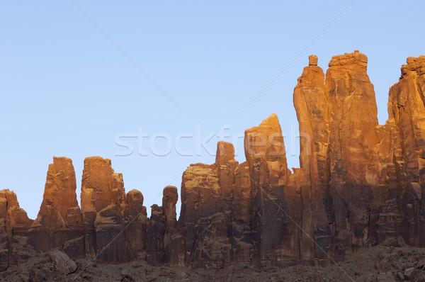 sandstone towers Stock photo © pedrosala