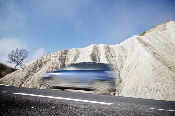 Blue car Stock photo © pedrosala