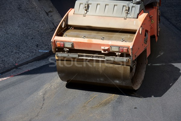 Asphalting work Stock photo © pedrosala