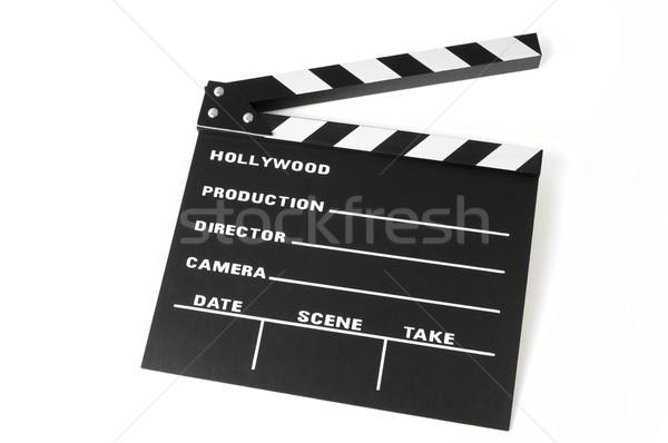 色 黒白 背景 通信 ビデオ レトロな ストックフォト © pedrosala