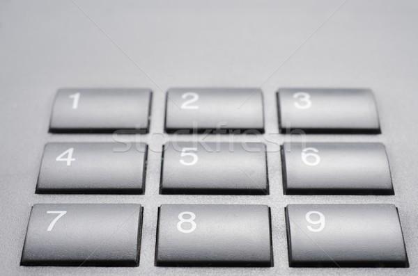 telephone keypad Stock photo © pedrosala