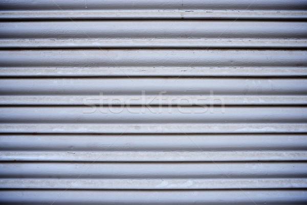 Metal dell'otturatore alto blu retro Foto d'archivio © pedrosala