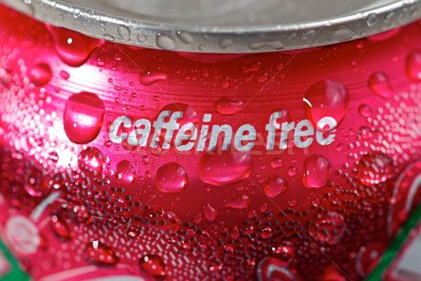 Cafeïne gratis kan soda water Stockfoto © pedrosala