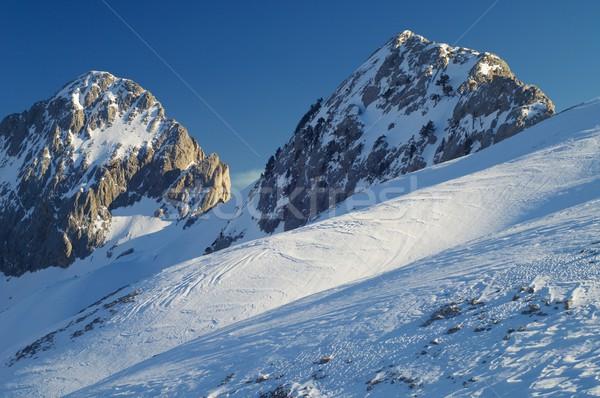 Foratata Peaks Stock photo © pedrosala